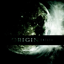 "Origin - ""Entity"" CD cover image - Click to read review"
