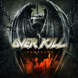 "Overkill - ""Ironbound"" CD cover image - Click to read review"