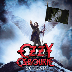 "Ozzy Osbourne - ""Scream"" CD cover image"