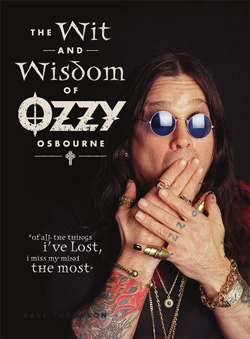 "Ozzy Osbourne - ""The Wit And Wisdom of Ozzy Osbourne"" Book cover image"