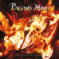 "Pagan's Mind - ""Heavenly Ecstasy"" CD cover image - Click to read review"