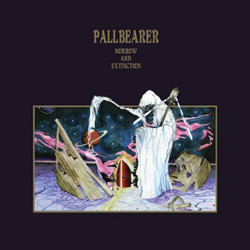"Pallbearer - ""Sorrow and Extinction"" CD cover image"