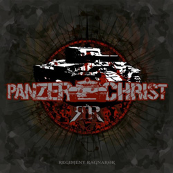 "PanzerChrist - ""Regiment Ragnarok"" CD cover image"