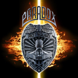 "Paradox - ""Riot Squad"" CD cover image - Click to read review"