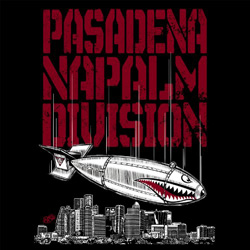 "Pasadena Napalm Division - ""P.N.D. EP"" CD/EP cover image - Click to read review"