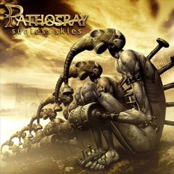 "Pathosray - ""Sunless Skies"" CD cover image"