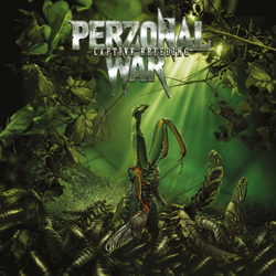 "Perzonal War - ""Captive Breeding"" CD cover image - Click to read review"