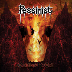 "Pessimist - ""Evolution Unto Evil"" CD cover image"