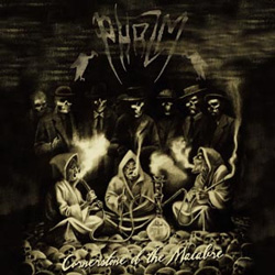 "Phazm - ""Cornerstone of the Macabre"" CD cover image"