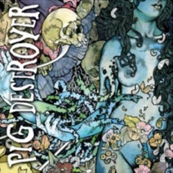 "Pig Destroyer - ""Phantom Limb"" CD cover image"