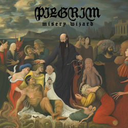 "Pilgrim - ""Misery Wizard"" CD cover image"