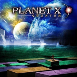 "Planet X - ""Quantum"" CD cover image"