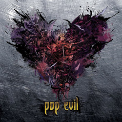 "Pop Evil - ""War Of Angels"" CD cover image - Click to read review"