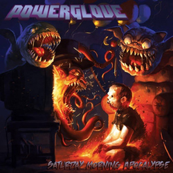 "Powerglove - ""Saturday Morning Apocalypse"" CD cover image"