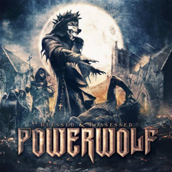 "Powerwolf - ""Blessed & Possessed"" CD cover image"