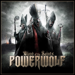 "Powerwolf - ""Blood of the Saints"" CD cover image - Click to read review"