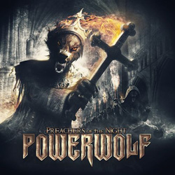 "Powerwolf - ""Preachers Of The Night"" CD cover image"
