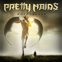 "Pretty Maids - ""Motherland"" CD cover image - Click to read review"