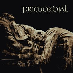 "Primordial - ""Where Greater Men Have Fallen"" CD cover image - Click to read review"