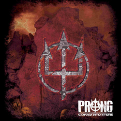 "Prong - ""Carved Into Stone"" CD cover image"