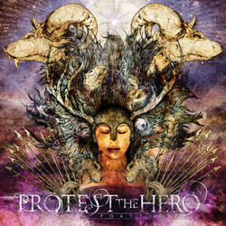 "Protest The Hero - ""Fortress"" CD cover image"