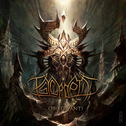 "Psycroptic - ""Ob(Servant)"" CD cover image - Click to read review"