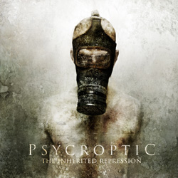 "Psycroptic - ""The Inherited Repression"" CD cover image - Click to read review"