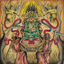 "Pulling Teeth - ""Funerary"" CD cover image - Click to read review"