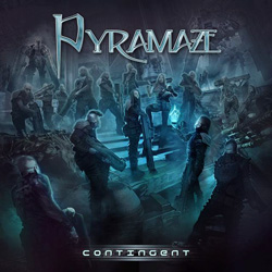 "Pyramaze - ""Contingent"" CD cover image"