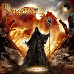 "Pyramaze - ""Immortal"" CD cover image"