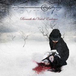"Pythia - ""Beneath the Veiled Embrace"" CD cover image"