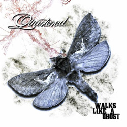 "Quartered - ""Walks Like A Ghost"" CD cover image - Click to read review"