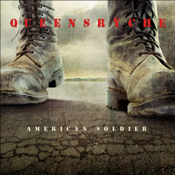 "Queensryche - ""American Soldier"" CD cover image - Click to read review"