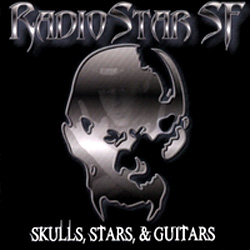 "RadioStar SF - ""Skulls, Stars & Guitars"" CD cover image"