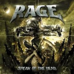 "Rage - ""Speak of the Dead"" CD cover image - Click to read review"