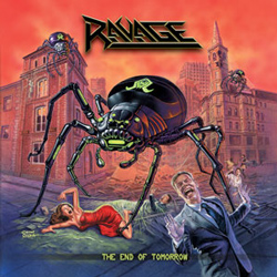 "Ravage - ""The End of Tomorrow"" CD cover image"