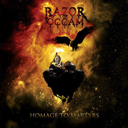 "Razor Of Occam - ""Homage To Martyrs"" CD cover image"