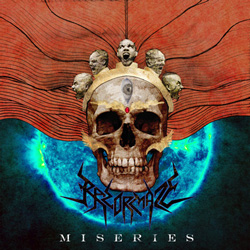 "Razormaze - ""Miseries"" CD/EP cover image"