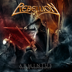 "Rebellion - ""Arminius - Furor Teutonicus"" CD cover image"