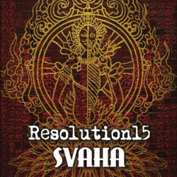 "Resolution15 - ""Svaha"" CD cover image"
