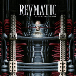 "Revmatic - ""Cold Blooded Demon"" CD cover image - Click to read review"