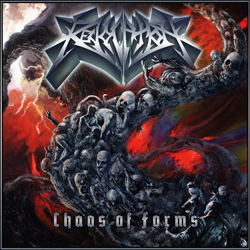 "Revocation - ""Chaos Of Forms"" CD cover image"