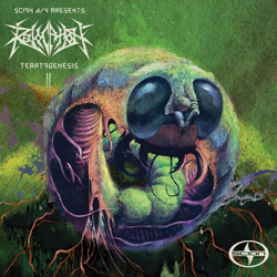 "Revocation - ""Teratogenesis"" CD/EP cover image - Click to read review"