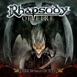 "Rhapsody Of Fire - ""Dark Wings Of Steel"" CD cover image - Click to read review"
