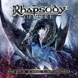 "Rhapsody Of Fire - ""Into The Legend"" CD cover image - Click to read review"
