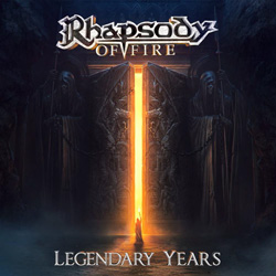 "Rhapsody Of Fire - ""Legendary Years"" CD cover image"