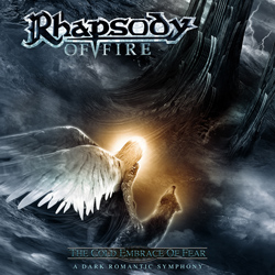 "Rhapsody Of Fire - ""The Cold Embrace Of Fear – A Dark Romantic Symphony"" CD cover image - Click to read review"