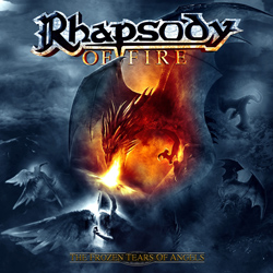 "Rhapsody Of Fire - ""The Frozen Tears Of Angels"" CD cover image - Click to read review"