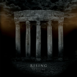 "Rising - ""To Solemn Ash"" CD cover image - Click to read review"