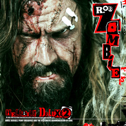 "Rob Zombie - ""Hellbilly Deluxe 2 – Noble Jackals, Penny Dreadfuls and the Systematic Dehumanization of Cool"" CD cover image - Click to read review"